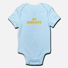 Bobcats-Fre yellow gold Body Suit