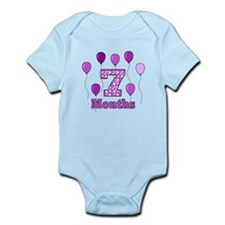 7 Months - Purple Polka Dot Body Suit