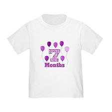 7 Months - Purple Polka Dot T-Shirt