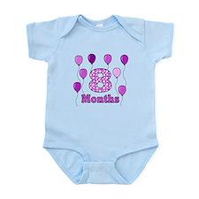 8 Months - Purple Polka Dot Body Suit