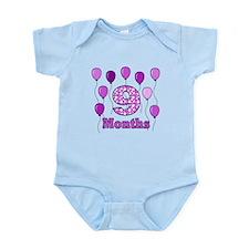9 Months - Purple Polka Dot Body Suit