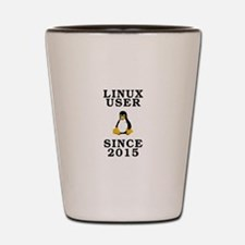 Linux user since 2015 - Shot Glass