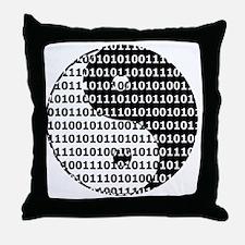 Digital Zen Throw Pillow