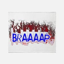 Braaaap Throw Blanket