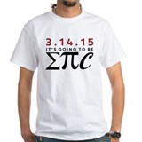 Ultimate pi day Mens White T-shirts