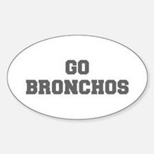 BRONCHOS-Fre gray Decal