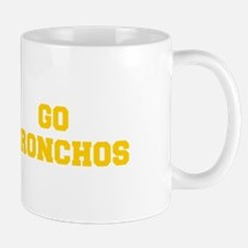 Bronchos-Fre yellow gold Mugs