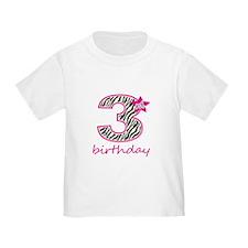 3rd Birthday T-Shirt