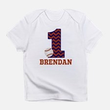 First Birthday Baseball Infant T-Shirt