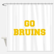 Bruins-Fre yellow gold Shower Curtain