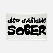 Also Available Sober Rectangle Magnet