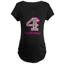 4th Birthday Maternity T-Shirt