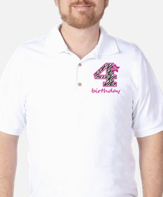 4th Birthday Golf Shirt