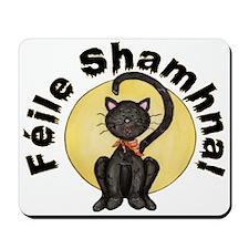 Gaelic Black Cat Mousepad