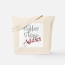 Rubber Stamp Addict Tote Bag