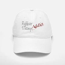 Rubber Stamp Addict Baseball Baseball Cap