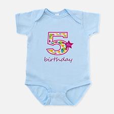 5th Birthday Body Suit