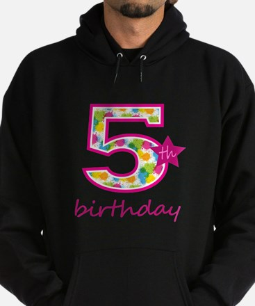 5th Birthday Hoodie (dark)