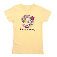 9th Birthday Girl's Tee