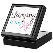 Stamping is My Life Keepsake Box