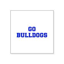 Bulldogs-Fre blue Sticker