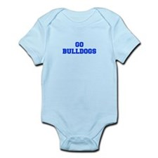 Bulldogs-Fre blue Body Suit