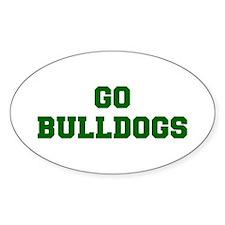 Bulldogs-Fre dgreen Decal