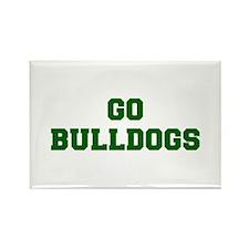 Bulldogs-Fre dgreen Magnets