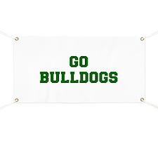 Bulldogs-Fre dgreen Banner