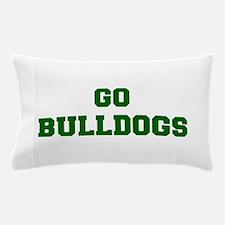 Bulldogs-Fre dgreen Pillow Case
