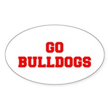 BULLDOGS-Fre red Decal