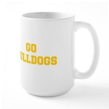 Bulldogs-Fre yellow gold Mugs