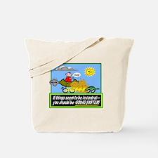 Go Faster Tote Bag