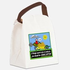 Go Faster Canvas Lunch Bag