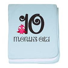 10 Months Old Baby Bird baby blanket