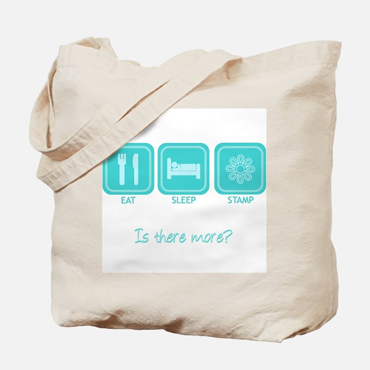 Eat, Sleep, Stamp Tote Bag