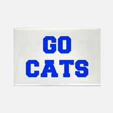 cats-Fre blue Magnets
