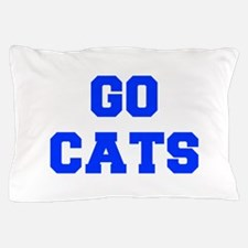 cats-Fre blue Pillow Case