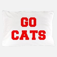 CATS-Fre red Pillow Case