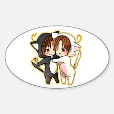 Cute Hetalia Sticker (Oval)