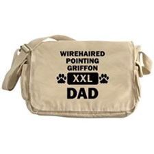 Wirehaired Pointing Griffon Dad Messenger Bag
