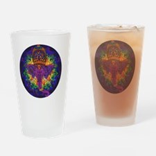 Psychedelic Ganesh Drinking Glass