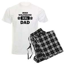 Irish Wolfhound Dad Pajamas