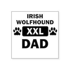 Irish Wolfhound Dad Sticker