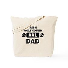 Irish Wolfhound Dad Tote Bag
