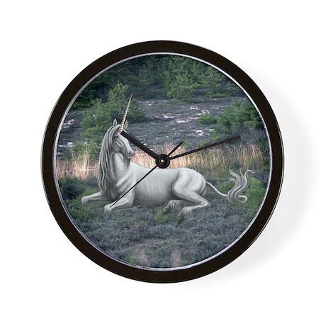 Reclining Unicorn Wall Clock