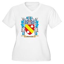 Perazzi Coat Plus Size T-Shirt
