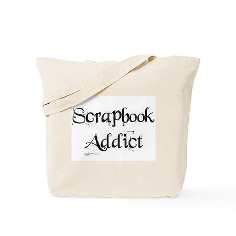 Scrapbook Addict Tote Bag