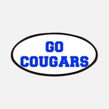 Cougars-Fre blue Patch