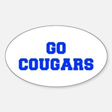 Cougars-Fre blue Decal